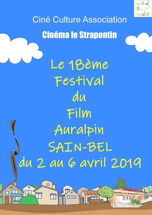 Affiche festival auralpin 2019