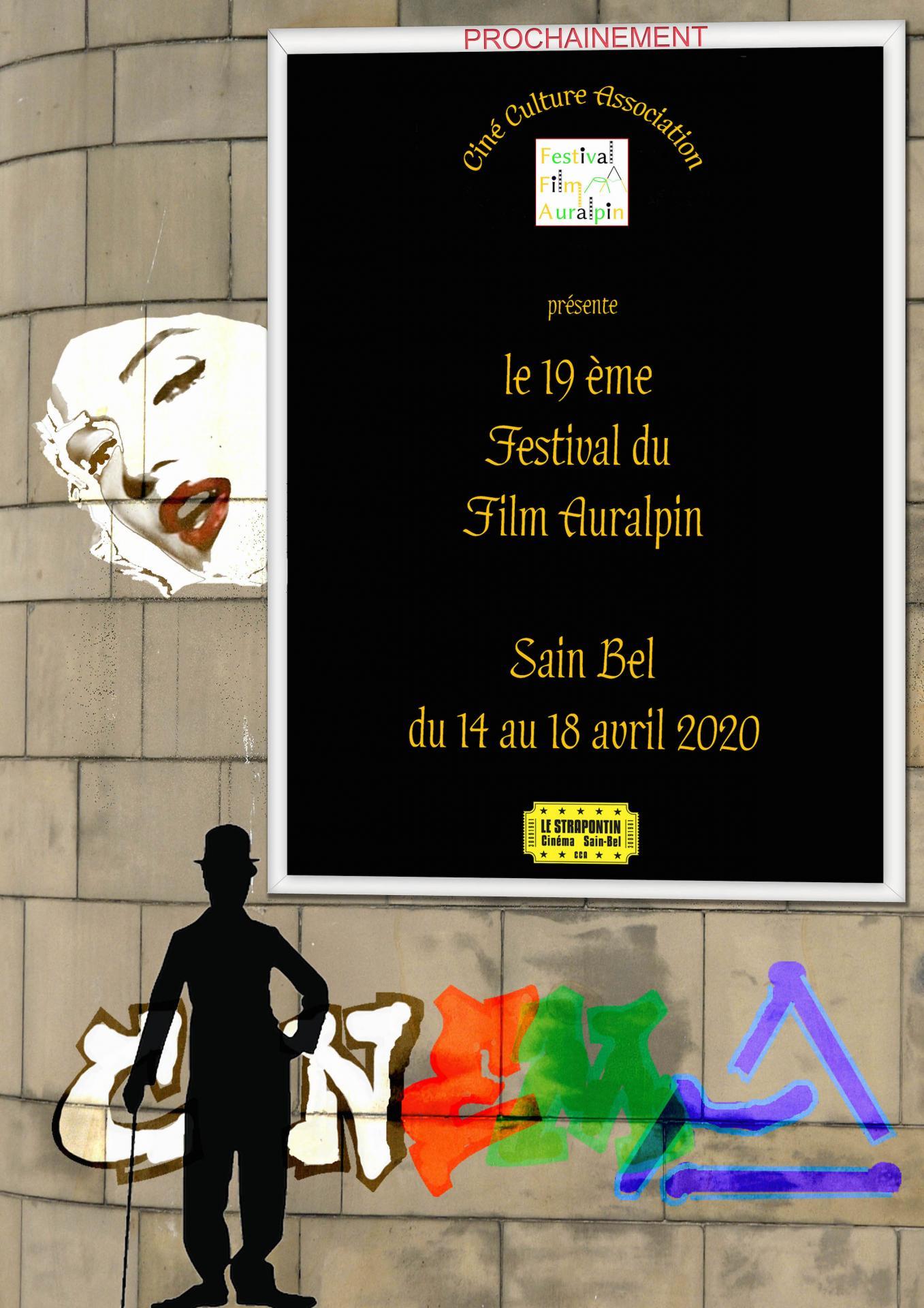 Affiche festival Auralpin 2020