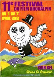 affiche festival rhonalpin 2012 sain-bel